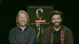 Ex Machina, Star Wars: The Force Awakens interview: Domhnall Gleeson & Oscar Isaac