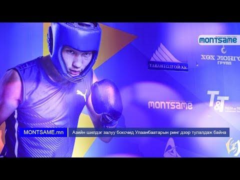 Азийн шилдэг залуу боксчид Улаанбаатарын ринг дээр тулалдаж байна