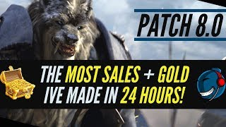 World of Warcraft 8.0   Most Gold I
