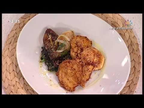 Pechuga de pollo con soja y sésamo Receta Cocina Miralavida