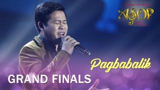 Marcelito Pomoy performs 'Pagbabalik'   ASOP 7 Grand Finals Night