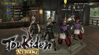 Toukiden Kiwami PS4 1080p Gameplay