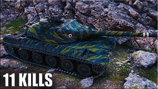 ТРИ ОТМТЕКИ 🌟 11 ФРАГОВ AMX 30 1er prototype World of Tanks