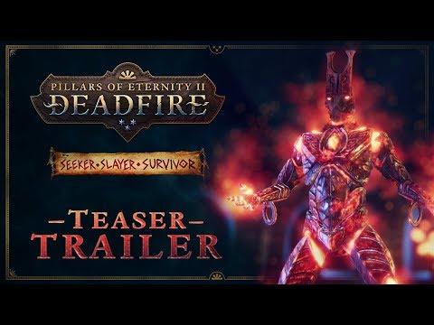 Pillars of Eternity II: Deadfire Seeker, Slayer, Survivor Teaser Trailer thumbnail
