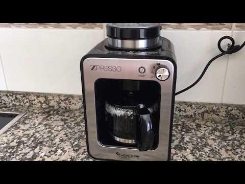 Cafetera Goteo ZPRESSO con molinillo - BPA FREE