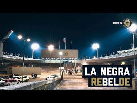 """La Negra Rebelde (La Negra Tomasa)"" Barra: La Rebel • Club: Pumas"