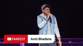 Amit Bhadana @ YouTube FanFest Mumbai 2019