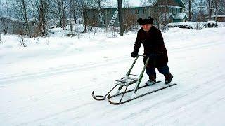 Финские санки для рыбалки в саратове