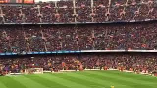Barcelona vs Atletico Madrid 04.03.2017 Lionel Messi score amazing free kick against Atletico Madrid