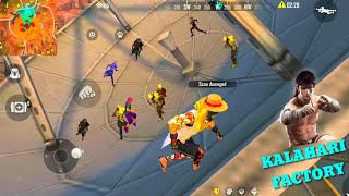 FREE FIRE FIGHT IN UMBRELLA BOOYAH #46 - FOUND FIST LOCATION IN KALAHARI MAP - FF - GARENA FREE FIRE