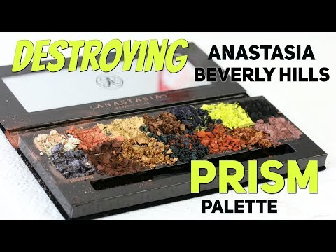 THE MAKEUP BREAKUP - Destroying Anastasia Beverly Hills Prism Palette | Is it as bad as Subculture?