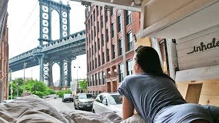 VAN LIFE | A Day In The Life | NEW YORK CITY