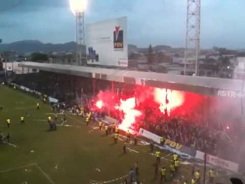 """Liga campeón 2010 celebración Muerte Blanca"" Barra: Muerte Blanca • Club: LDU"