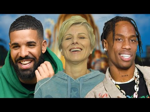 Mom Reacts Travis Scott - SICKO MODE ft. Drake