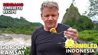 Gordon Ramsay Turns Rendang Into an Omelette in Indonesia | Scrambled