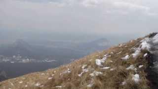 Мартовский поход на гору Бештау.