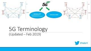Beginners: 5G Terminology (Updated - Feb 2019)