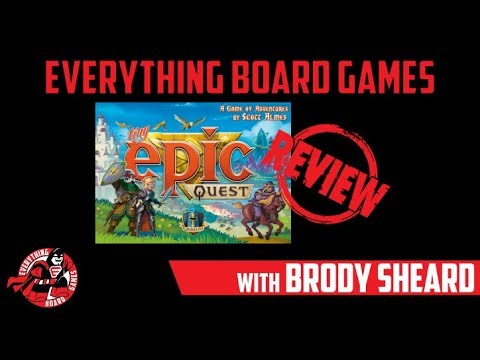Everything Board Games Tiny Epic Quest Review