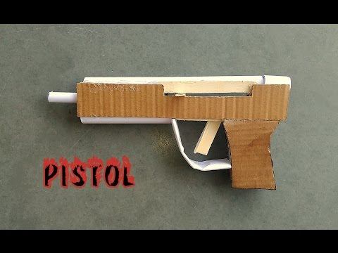 How to Make a Pistol or Handgun With Use of Paper - Easy Way - Toy for Kids - Sdik Rof