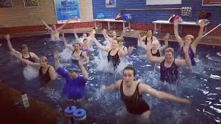 Aqua Aerobics Water Exercises with Laura Gaitor