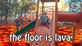 Манкиту играют в Пол Это Лава / floor is lava. МанкиБатл