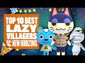 Top Ten Best Lazy Villagers In Animal Crossing: New Horizons - WHICH ONES DO YOU DREAM OF?