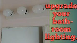 Upgrading Your Bathroom Light Fixtures. How To, DIY