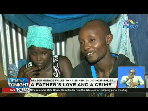 A man who tried to sneak new-born daughter out of KNH, freed