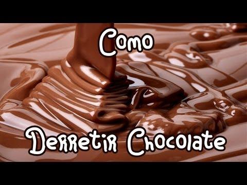 COMO DERRETIR CHOCOLATE A BAÑO MARIA (tutorial/como yo lo hago :D) Mirem Itziar ❤