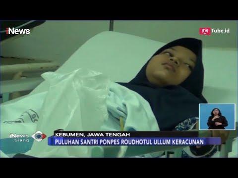 Usai Santap Sate dan Gulai, 58 Santri di Kebumen Keracunan - iNews Siang 04/04