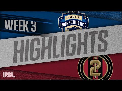 Шарлотт Индепенденс - Atlanta United 2 2:2. Видеообзор матча 01.04.2018. Видео голов и опасных моментов игры