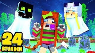 24 STUNDEN als GEISTER LEBEN?! - Minecraft [Deutsch/HD]