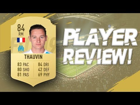 FIFA 19 - 84 RATED FLORIAN THAUVIN PLAYER REVIEW | FIFA 19 ULTIMATE TEAM PLAYER REVIEW