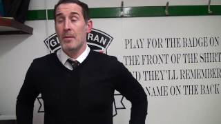 GlensTV Post match interview with manager Gary Haveron following our 10 victory