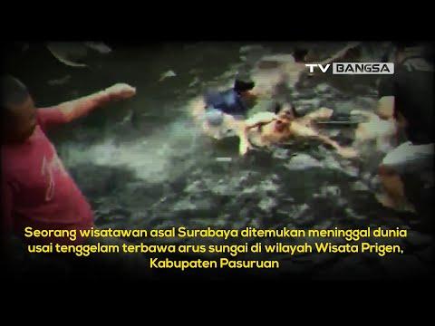 Dramatis, Detik detik Evakuasi Wisatawan Terseret Arus Sungai Rekesan Pasuruan
