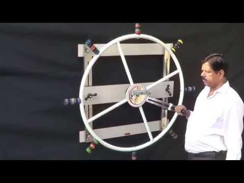 Nautical Cum Shoulder Wheel, IMI-2803