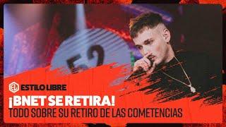 BNET SE RETIRA DE LAS BATALLAS DE FREESTYLE Y ES BAJA DE FMS INTERNACIONAL