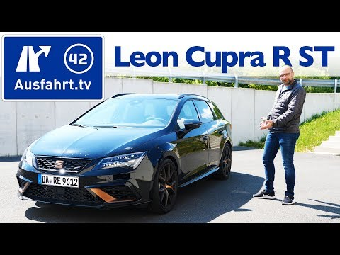 2019 Seat Leon CUPRA R ST (5F) - Kaufberatung, Test deutsch, Review, Fahrbericht Ausfahrt.tv