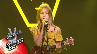 Jolien   'Don't Worry Be Happy | Blind Auditions | The Voice Kids | VTM