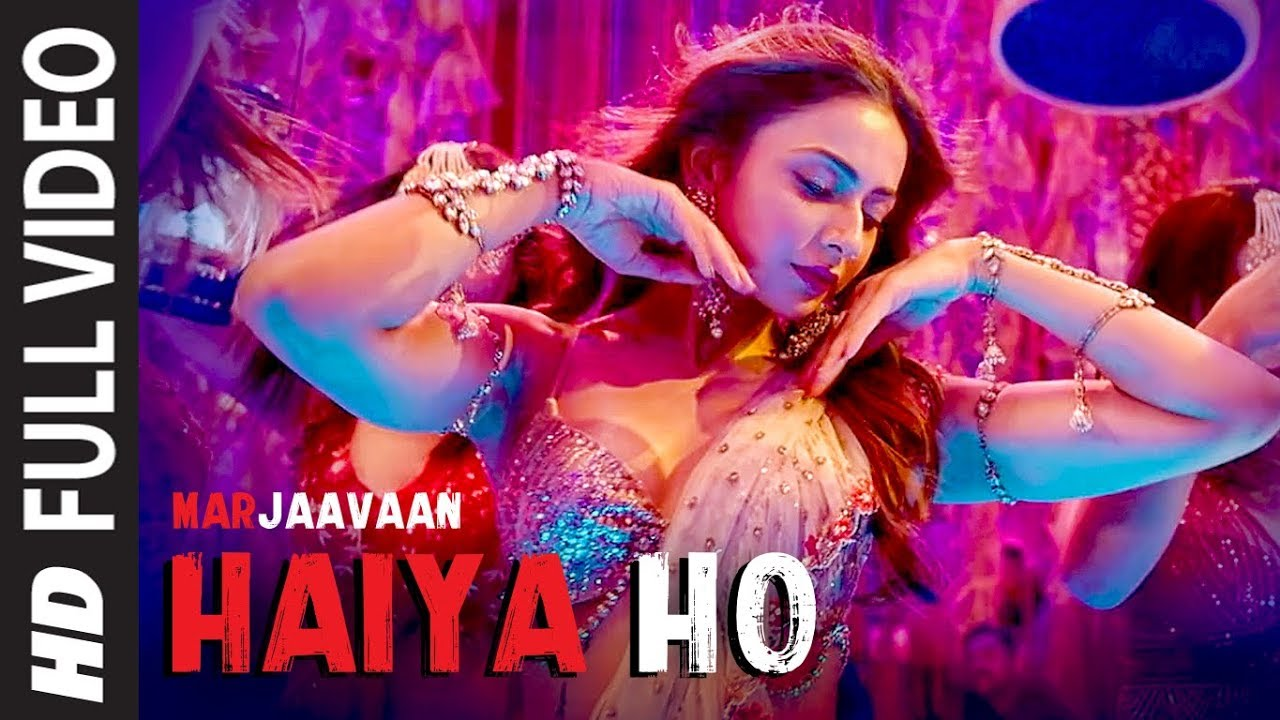 Haiya Ho Lyrics | Marjaavaan | Sidharth M, Rakul Preet | Tulsi Kumar, Jubin Nautiyal ,Tanishk B - Sidharth Lyrics