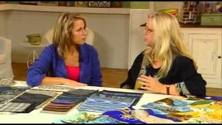 Luana Rubin on Quilting Arts TV - Japanese Taupe and Indigo Color Trends, Episode 504