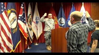 David Gets Sworn In - Feb. 9th, 2016