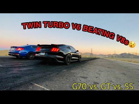 g70 3.3 VS Mustang GT
