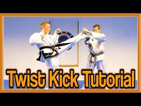 Taekwondo Twist Kick Tutorial | GNT How to