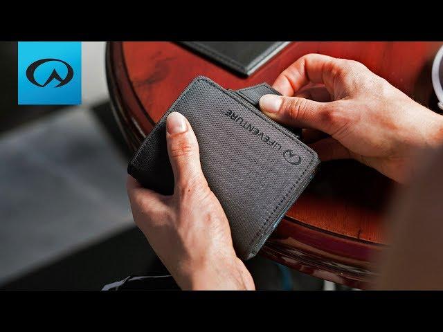 Видео Кошелек Lifeventure RFID Passport Wallet grey