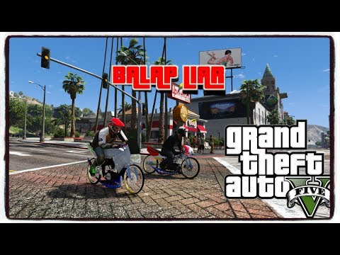 Video GTA 5 BALAP LIAR || GTA 5 MOD MOTOR DRAG INDONESIA