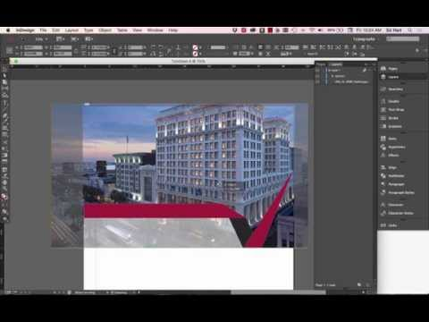 How To Create A Brochure In Indesign A Lesson Learned