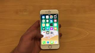 3D Touch Home Screen Icons in iOS 11 on iPhone 8