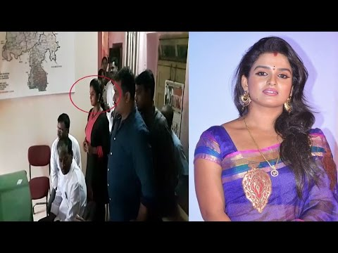 Breaking News !! Telugu Tv Actress Sri Vani Hulchal in Police Station | REPORTERBOX