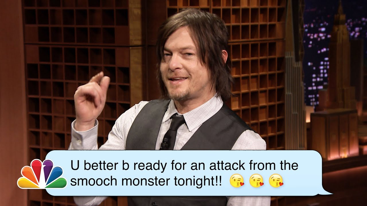 Norman Reedus (Daryl from The Walking Dead) Reads Romantic Texts ­Messages thumbnail